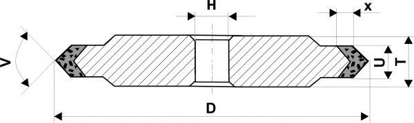 14ЕЕ1. Круги шлифовальные плоские