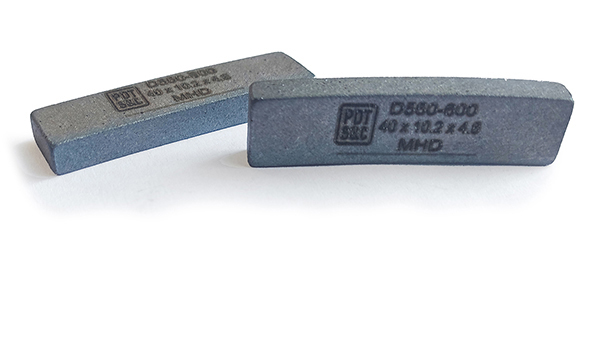 Алмазный сегмент Monolitth Hard для отрезных кругов 1A1RSS
