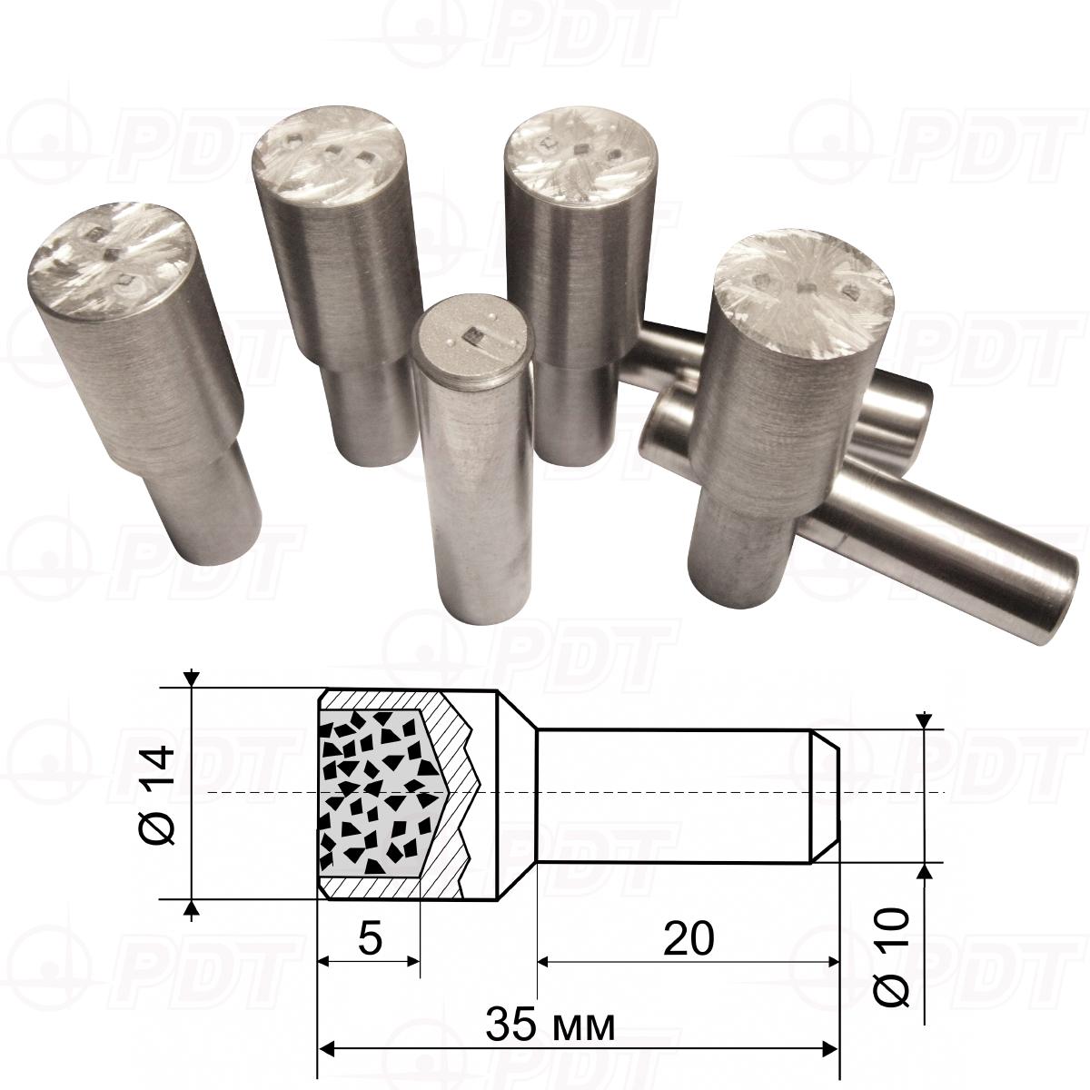 Карандаши алмазные исполнение С тип 04 (PDT)
